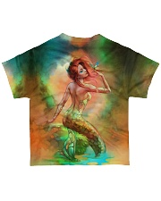 Mermaid With Butterfly HU29 All-over T-Shirt back