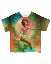 Mermaid With Butterfly HU29 All-over T-Shirt front