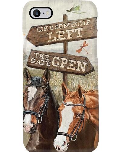 The Horse Gate Opens Phone Case YCA1