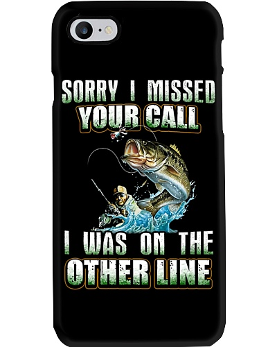I Was On The Other Line Phone Case HU29