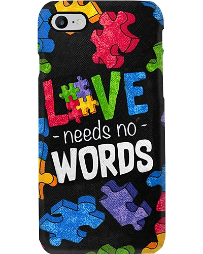 Love Needs No Words Phone Case YTP0