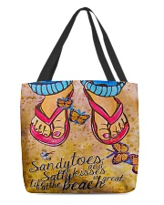 Great Life At The Beach H22N8 All-over Tote front
