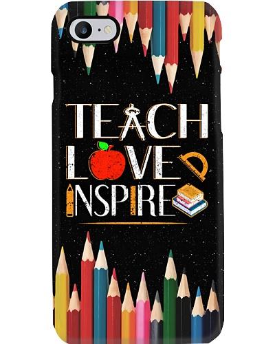 Teach Love Inspire Phone Case QE25