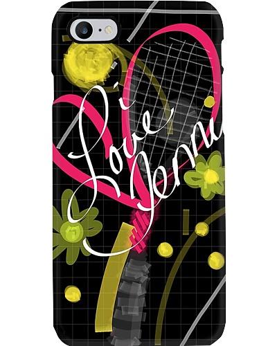 I Love Tennis Phone Case YTL2
