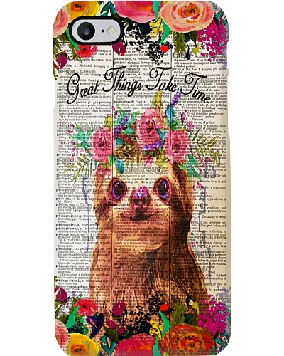 Great Things Take Time Sloth Gift H22N8