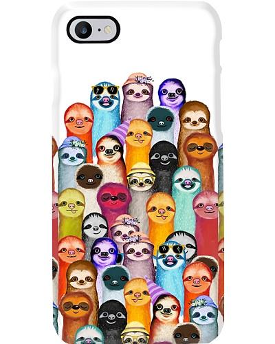 Lovely Sloths Phone Case YLT6