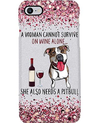 She Also Need A Pitbull Phone Case YLT6