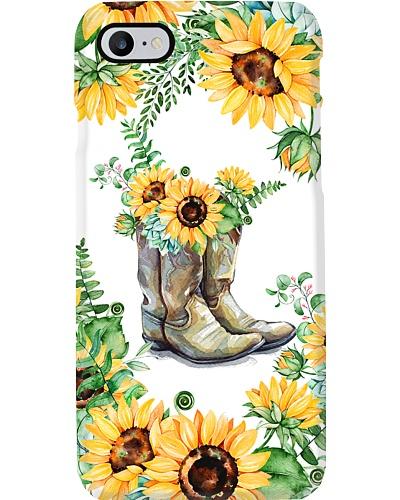 Sunflower Barn Phone Case CH03