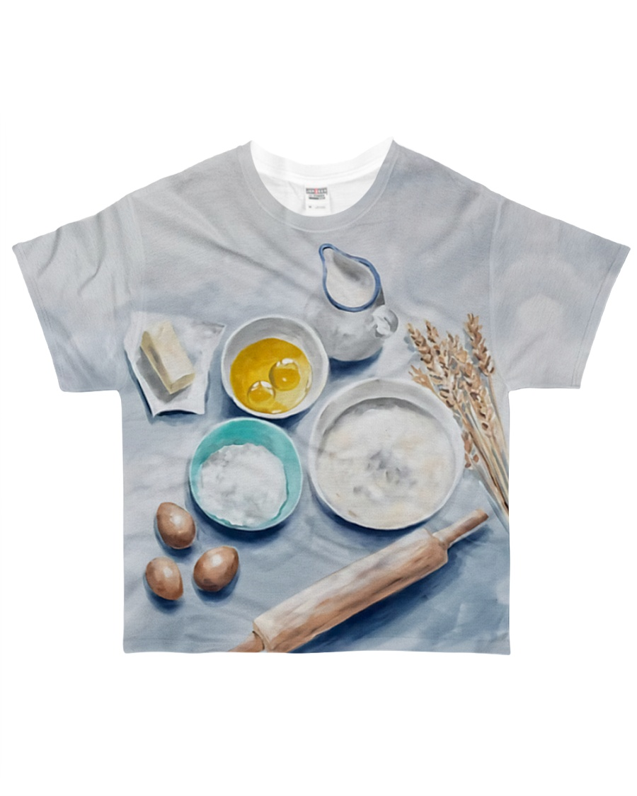 Baking Passion YHN3 All-over T-Shirt