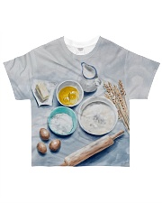 Baking Passion YHN3 All-over T-Shirt front