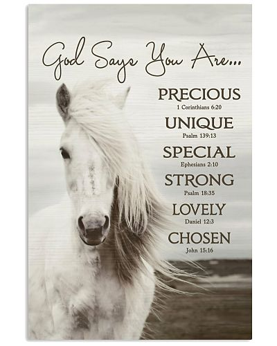 Horse God Says You Are Vertical Poster CH03