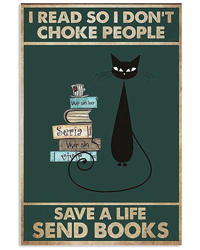 Send Book Save A Life Vertical Poster YTL4
