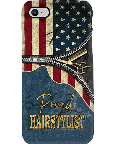 Proud American Hairstylist Phone Case YTP0