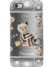 Black Cat Diamond Personalized Phone Case YSC6 Phone Case i-phone-8-case