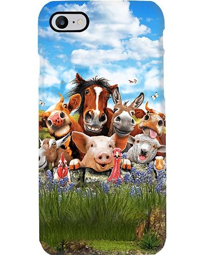 Happy Farm Phone Case QE25
