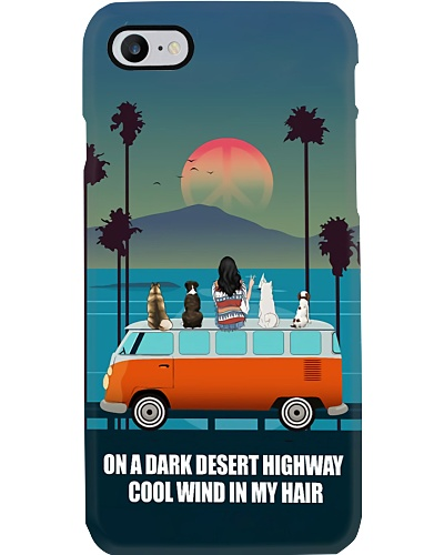 On A Desert Highway Phone Case YHT9