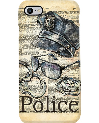Police Definition Phone Case YHT7
