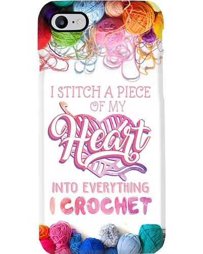 I Stitch A Piece Of My Heart Phone Case Q22A2