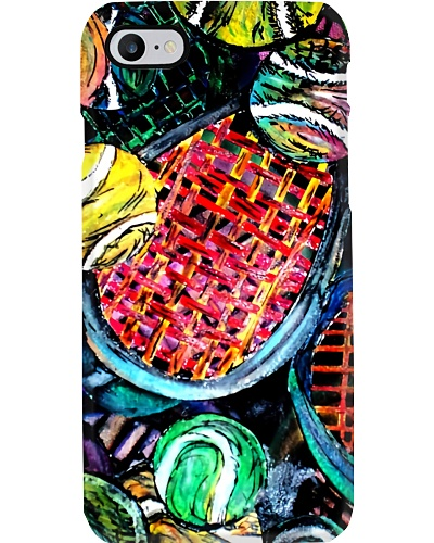 Tennis Painting Phone Case CH03