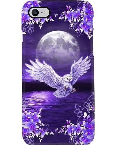 Owl Under The Moon Phone Case LA99