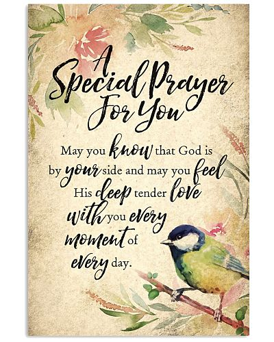 A Special Prayer Vertical Poster YTA8