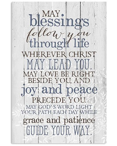 May blessings follow you Vertical Poster YTA8