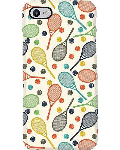 Tennis Vintage Patterns Phone Case YHG6