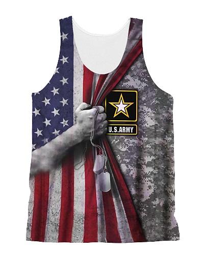 Flag n camouflage 1 Tank Top QE25