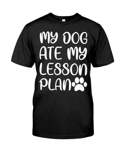MY DOG ATE MY LESSON PLAN TL10