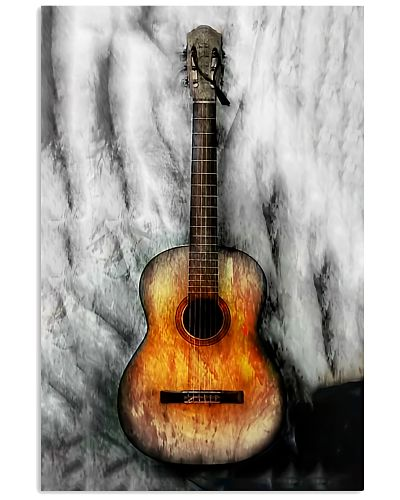 Acoustic Guitar Vertical Poster YTH0