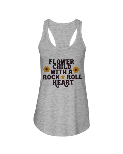 Flower child with a Rock 'n' Roll heart PH88