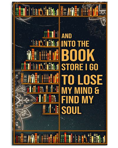 Into The Book Store Vertical Poster YSC6