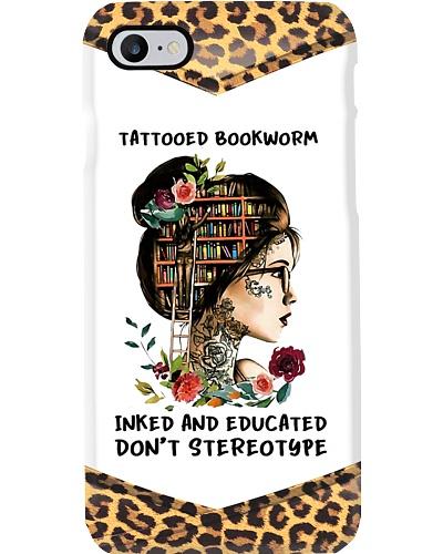 Tattoo Bookworm Phone Case YTP0