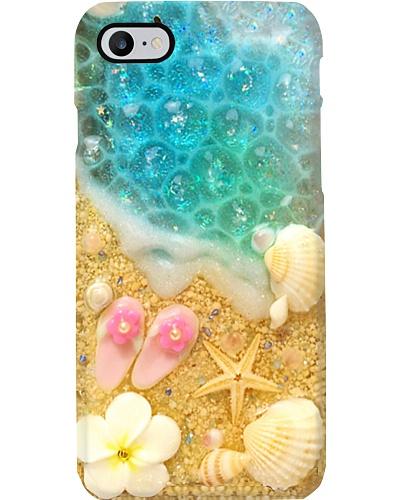 Cute Flip Flop Beach Phone Case YHG6