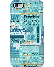 Swimming Lover Phone Case HT10 Phone Case i-phone-8-case