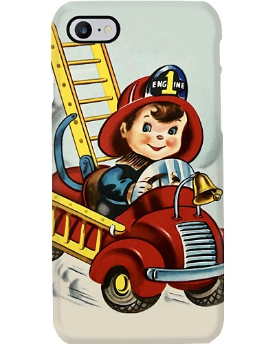 Baby Firefighter Phone Case Q09T2
