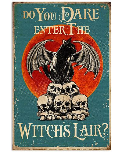 Enter The Witch's Lair Vertical Poster YBE9