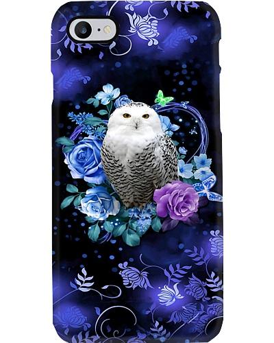 Owl Floral Phone Case QE25
