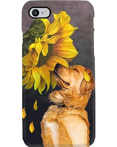 Golden Retriever Sunflower Phone Case YVY9