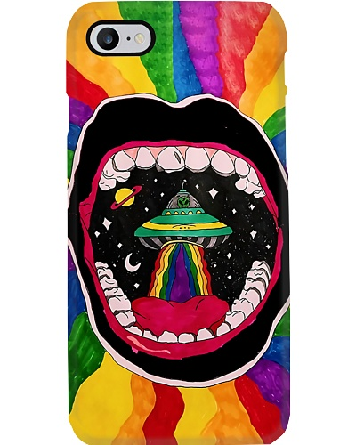 Hippie Mouth Phone Case YTH0