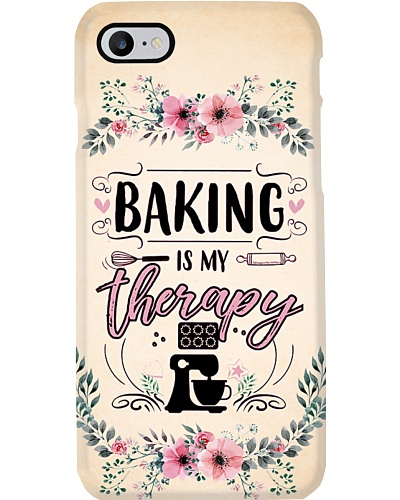Baking Is My Therapy Phone Case QE25