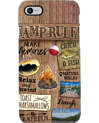Camp Rules Phone Case YTP0