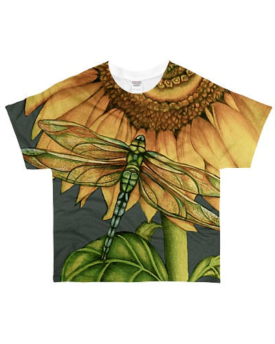 Dragonfly And Sunflower YHN3