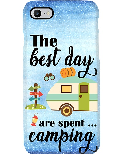 Camping the best days Phone Case YLP8