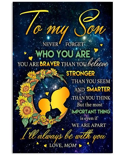 To My Son Vertical Poster YAD9