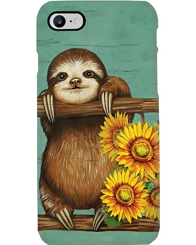 Sunflower Sloth Phone Case YPM0