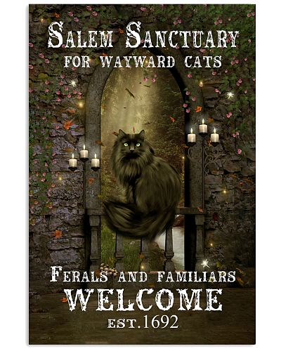 Gothic Cat Vertical Poster YHD8