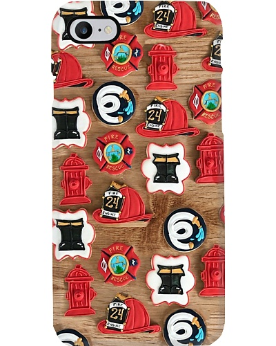 collection Firefighter Icons Phone Case YTB5