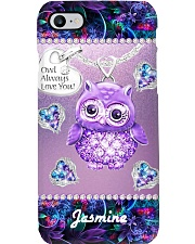 Owl Always Love You Phone Case Personalized YMH1 Phone Case i-phone-8-case