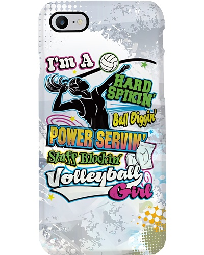 Volleyball Girl Phone Case YCT8